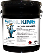 Lacquer Thinner and Cleaner by Seal King