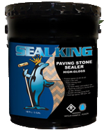 paving stone sealer water bourne by seal king