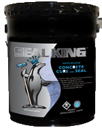 Concrete Cure & Seal Water Bourne by Seal King
