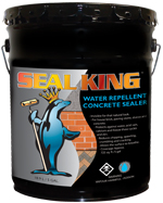 Water Repellent Concrete Sealer Water Bourne by Seal King