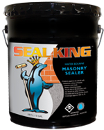 Sealers for Masonry Water Bourne by Seal King